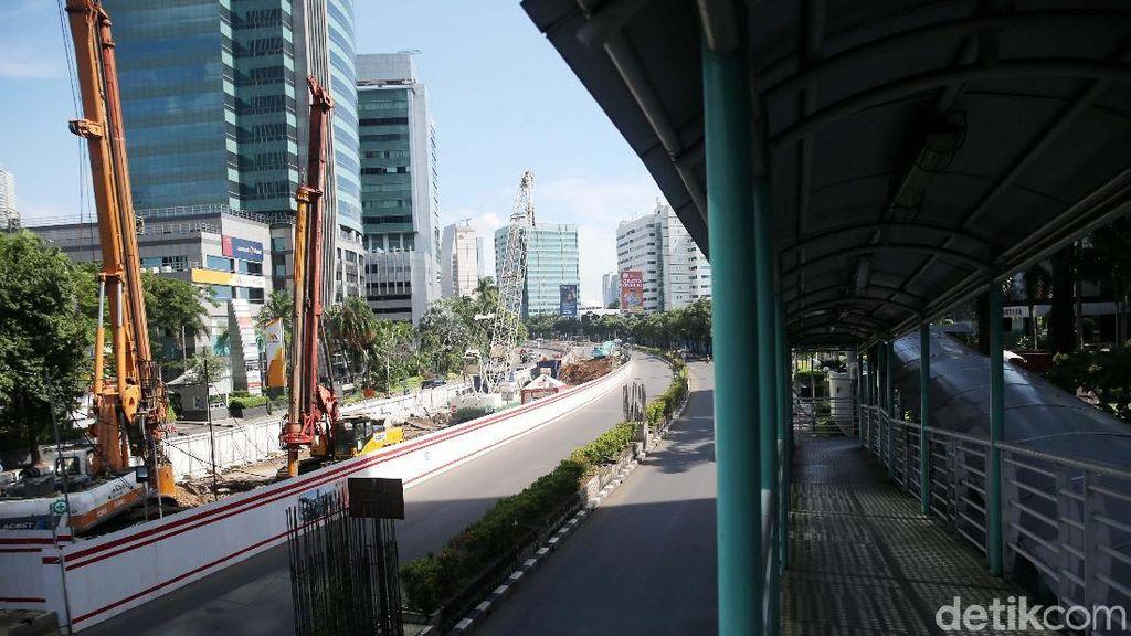 Lalin Jakarta Mati Suri di Awal Tahun