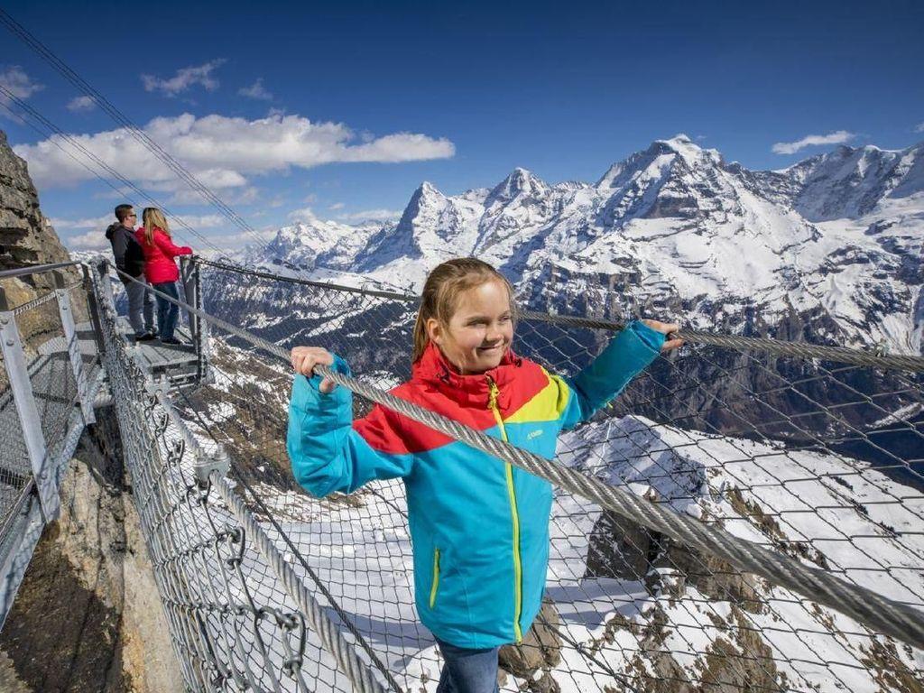 Keren Tapi Ngeri, Jembatan dari Kawat di Atas Gunung Es