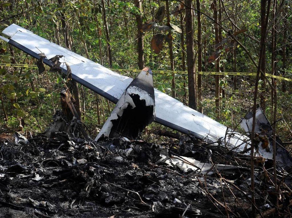 12 Orang Tewas Akibat Kecelakaan Pesawat Kecil di Kosta Rika