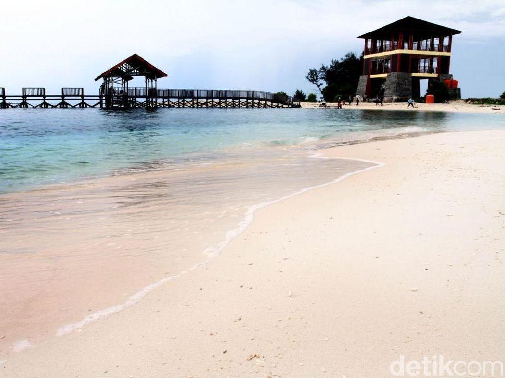 Foto: Pulau di Makassar yang Seperti Milik Kamu Sendiri