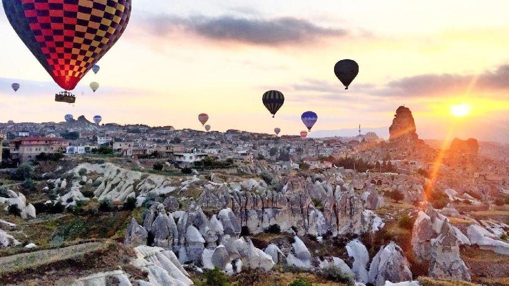 Deretan Spot Wisata Turki yang Bikin Traveler Indonesia Meleleh