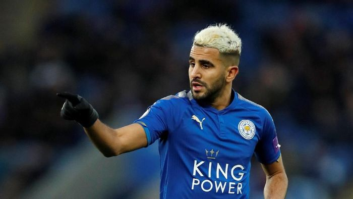 Riyad Mahrez baru saja hijrah dari Leicester City ke Manchester City. (Foto: Andrew Boyers/Reuters)