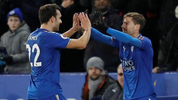 Silva Akhirnya Debut untuk Leicester usai Insiden Telat 14 Detik