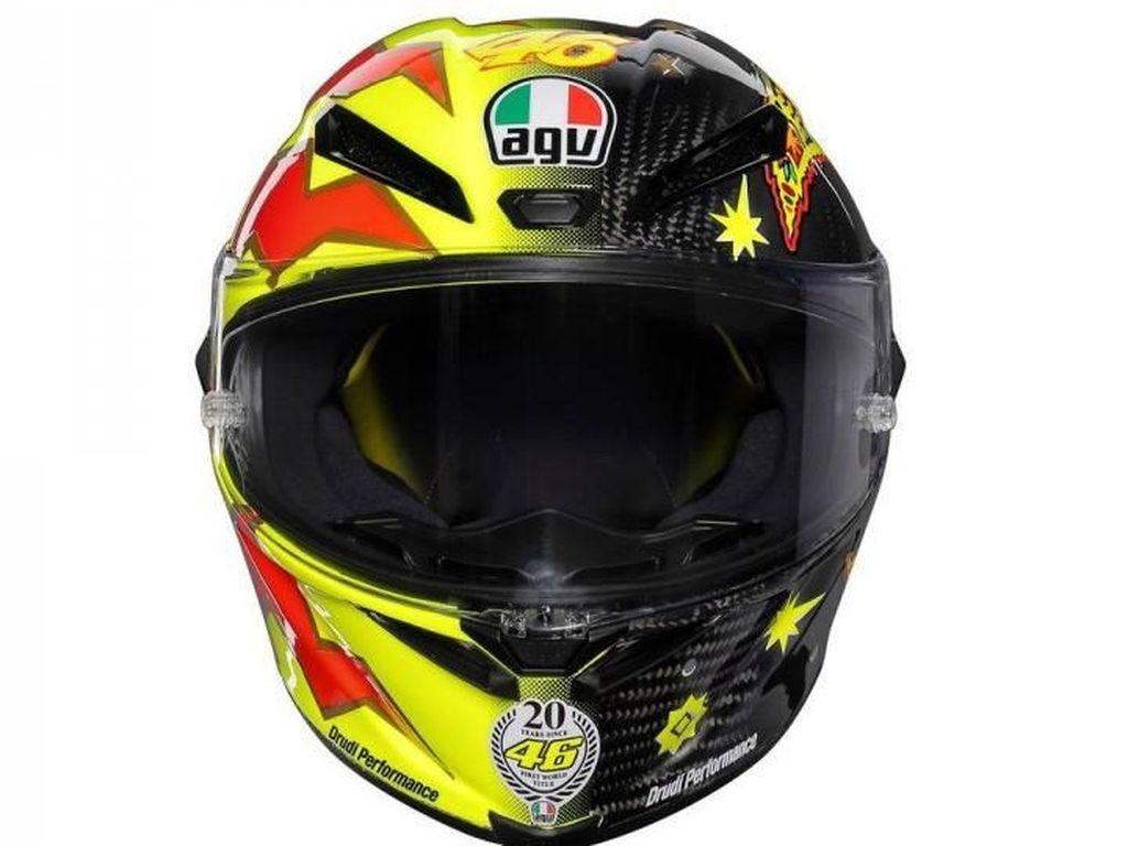 Helm Valentino Rossi Edisi 20 Tahun, Mau?