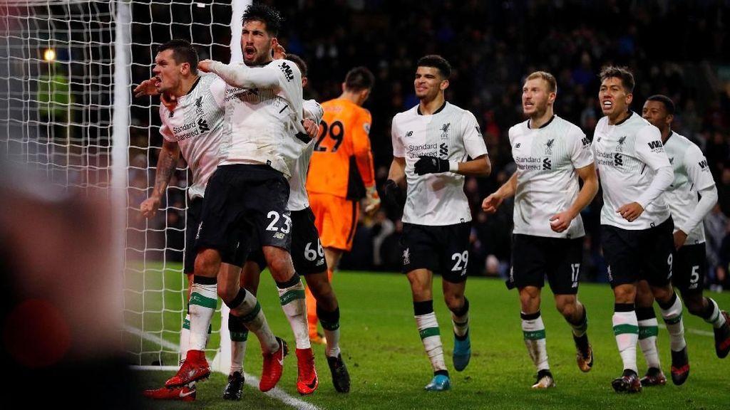 Kemenangan Dramatis Liverpool di Markas Burnley