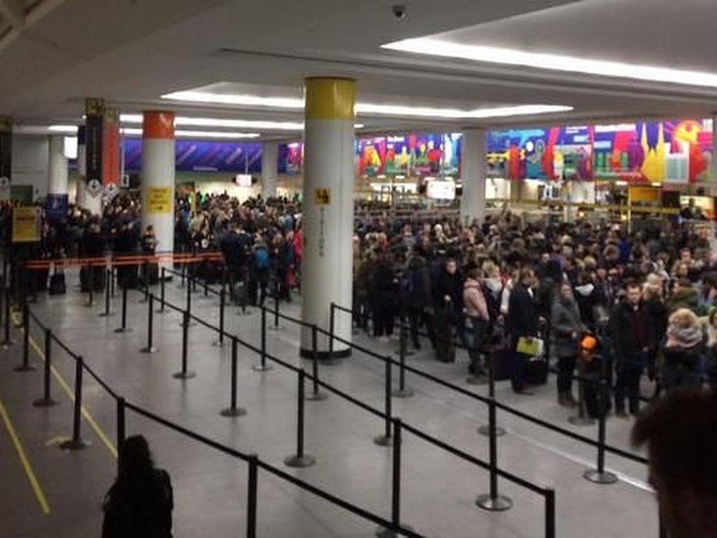 Duh! Sistem Komputer di Sejumlah Bandara AS Down Saat Tahun Baru