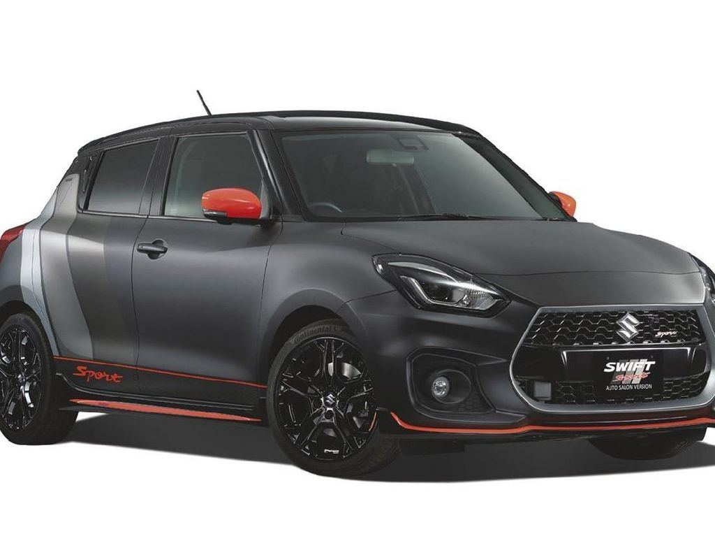 Sangarnya Suzuki Swift Sport, Hot Hatch Berwarna Hitam