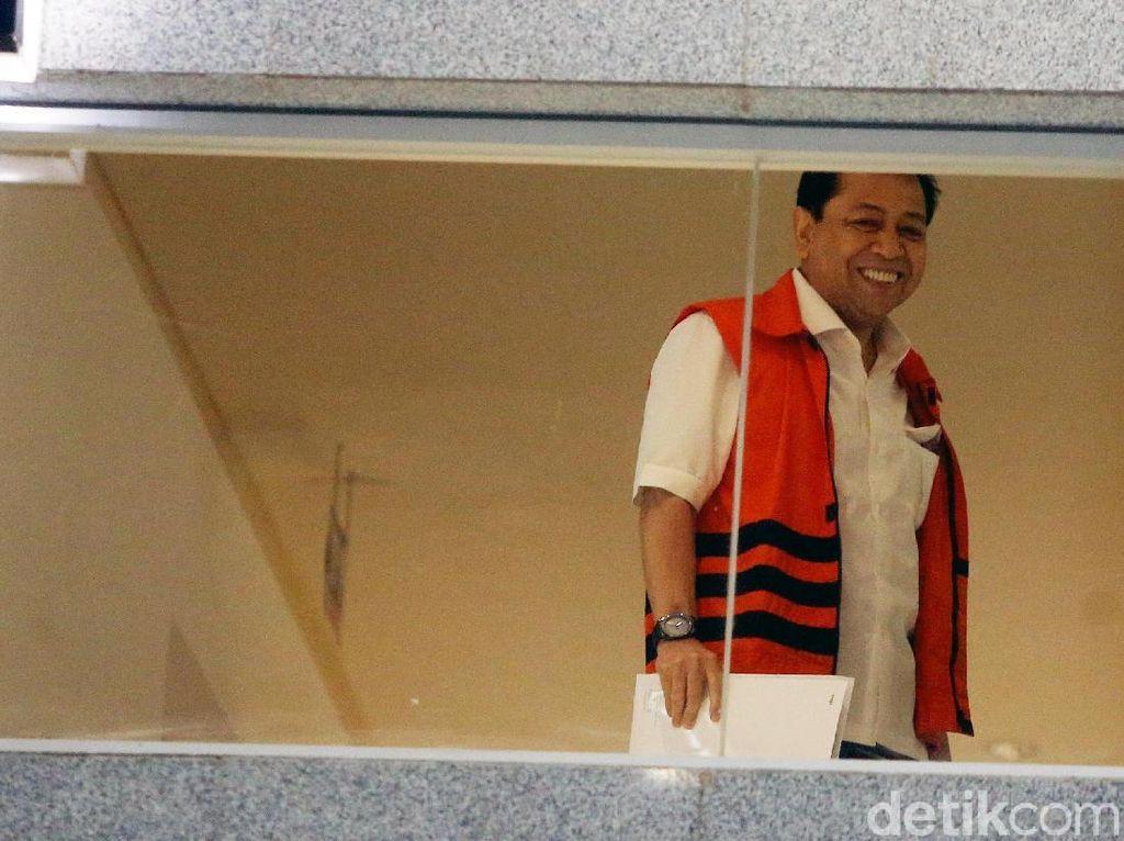Perjalanan Kasus Novanto hingga Dituntut 16 Tahun Bui
