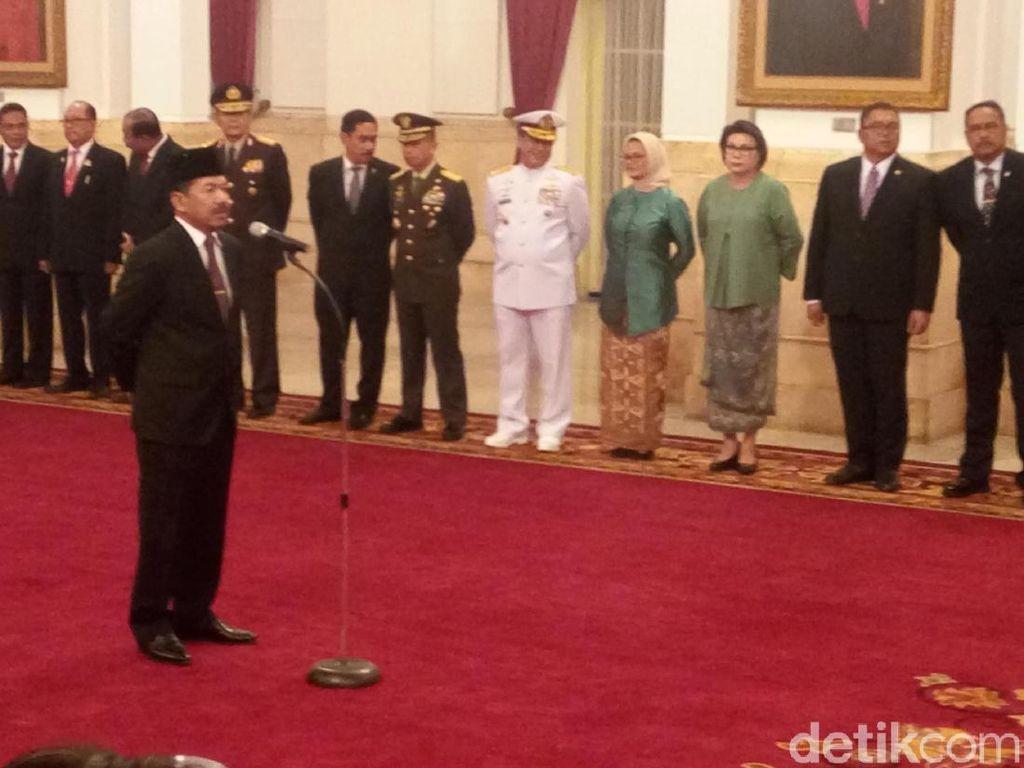 Sah! Jokowi Lantik Djoko Setiadi Jadi Kepala BSSN