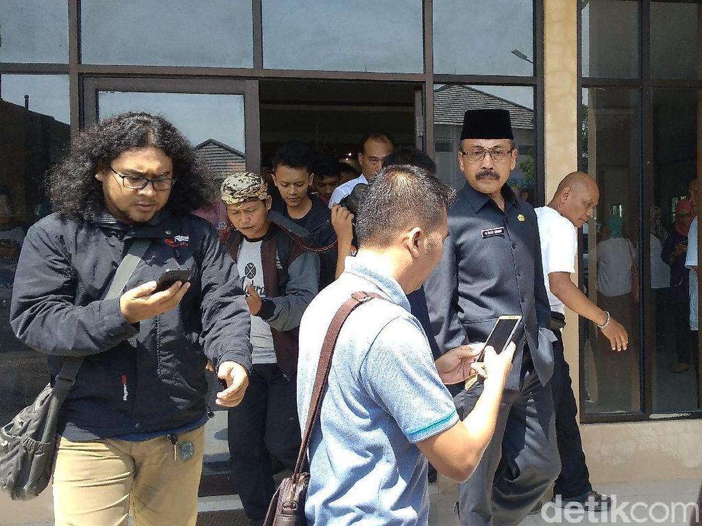 Tolak Jadi Staf Ahli, Sekda Cirebon Keluar Ruang Pelantikan