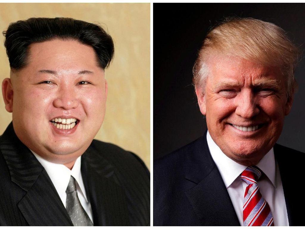 Trump akan Bertemu Kim Jong Un di Singapura 12 Juni