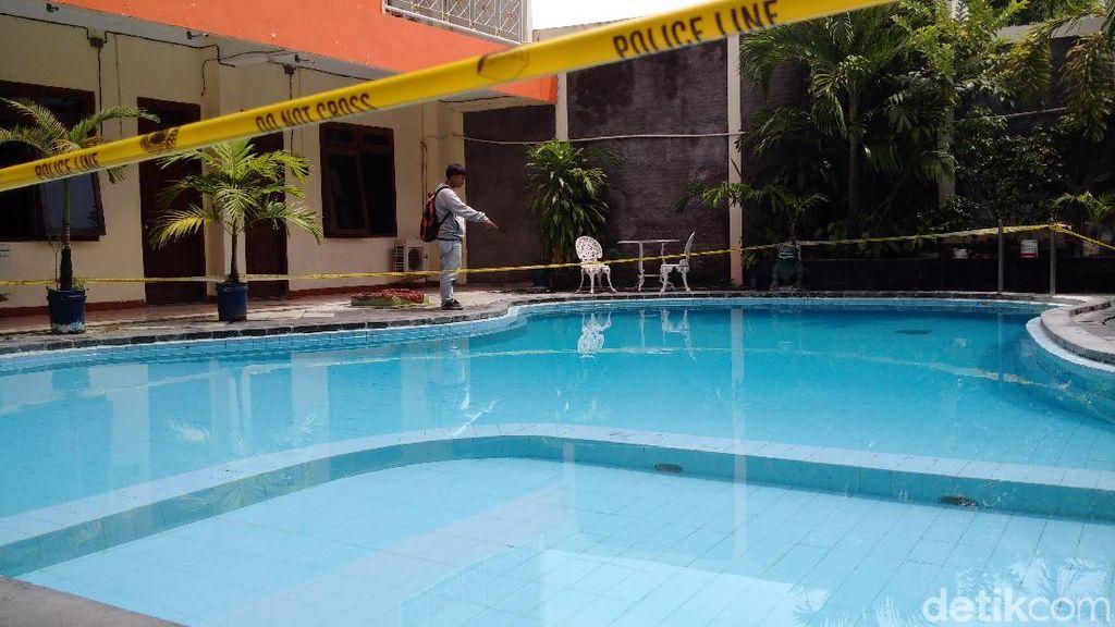 Ini Kolam Renang Hotel di Yogya Lokasi 2 Bocah Tewas Tenggelam