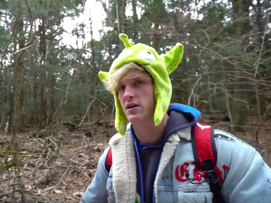 Logan Paul Blak-blakan Pasca Kasus Video Bunuh Diri