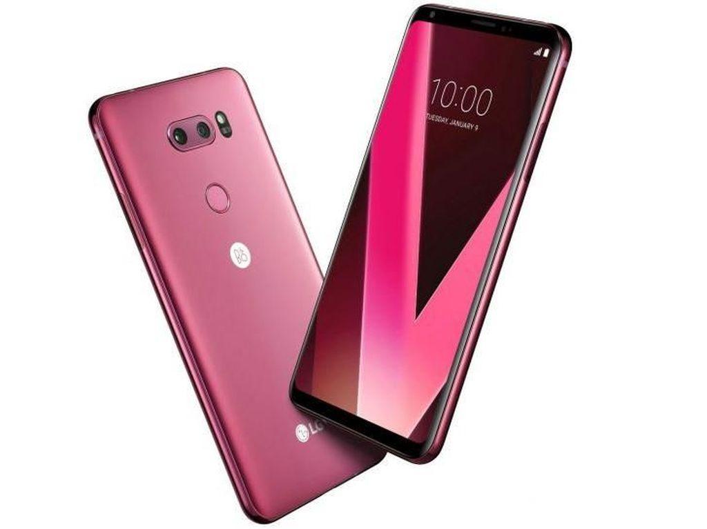 LG Rilis V30 Varian Raspberry Rose