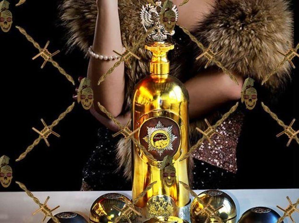 Bertakhtakan Berlian, Vodka Termahal di Dunia Dicuri