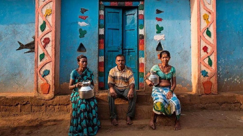 Foto: Pernikahan Unik Demi Air di India