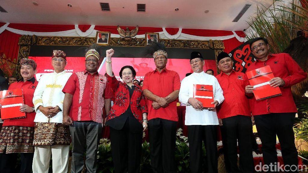Ini Dia Empat Jagoan PDIP di Pilkada Serentak 2018