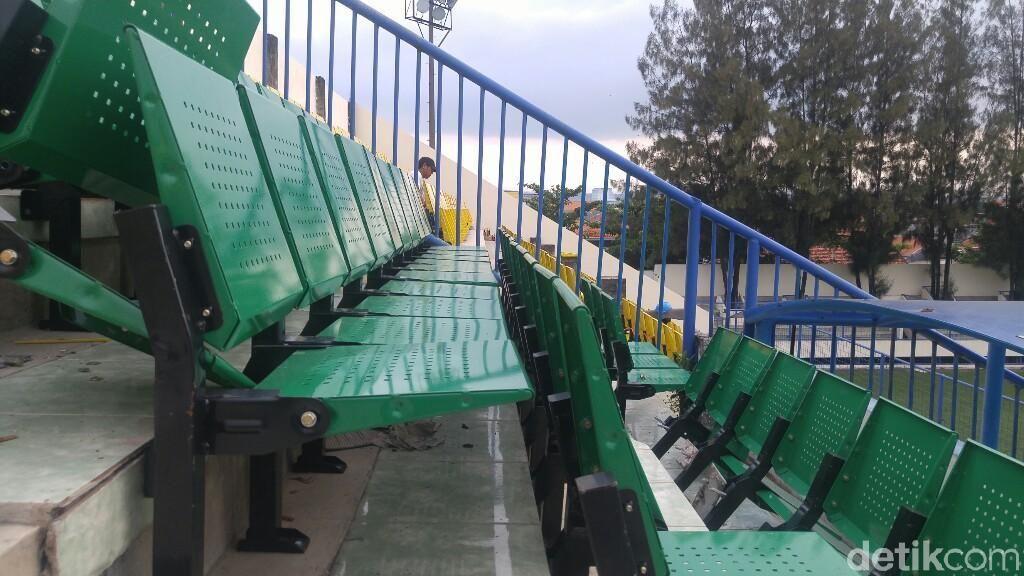 Kursi-kursi Stadion Citarum Viral, Ini Foto-fotonya Sekarang