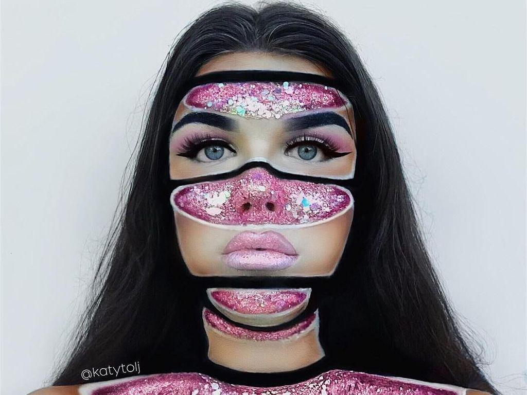 Tren Makeup Geode di 2018, Gaya Makeup yang Indah Tapi Juga Ngeri