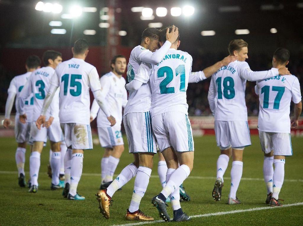 Nacho: Sekalipun Numancia Dapat Penalti, Madrid Tetap Akan Menang