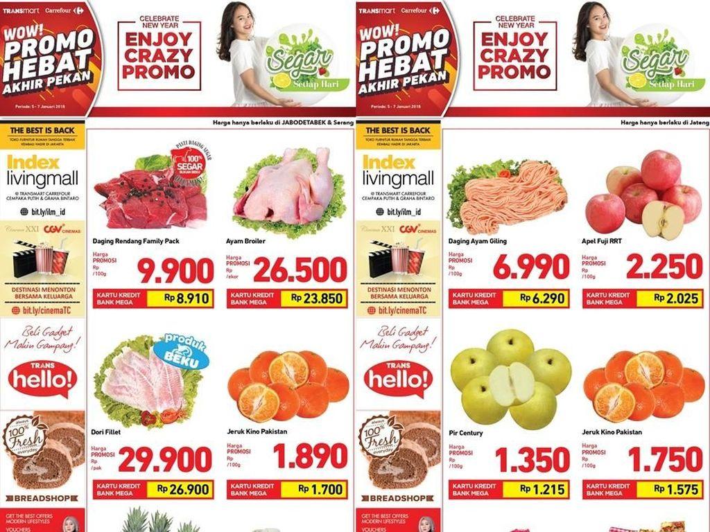 Promo Daging Ayam & Jeruk di Transmart Carrefour