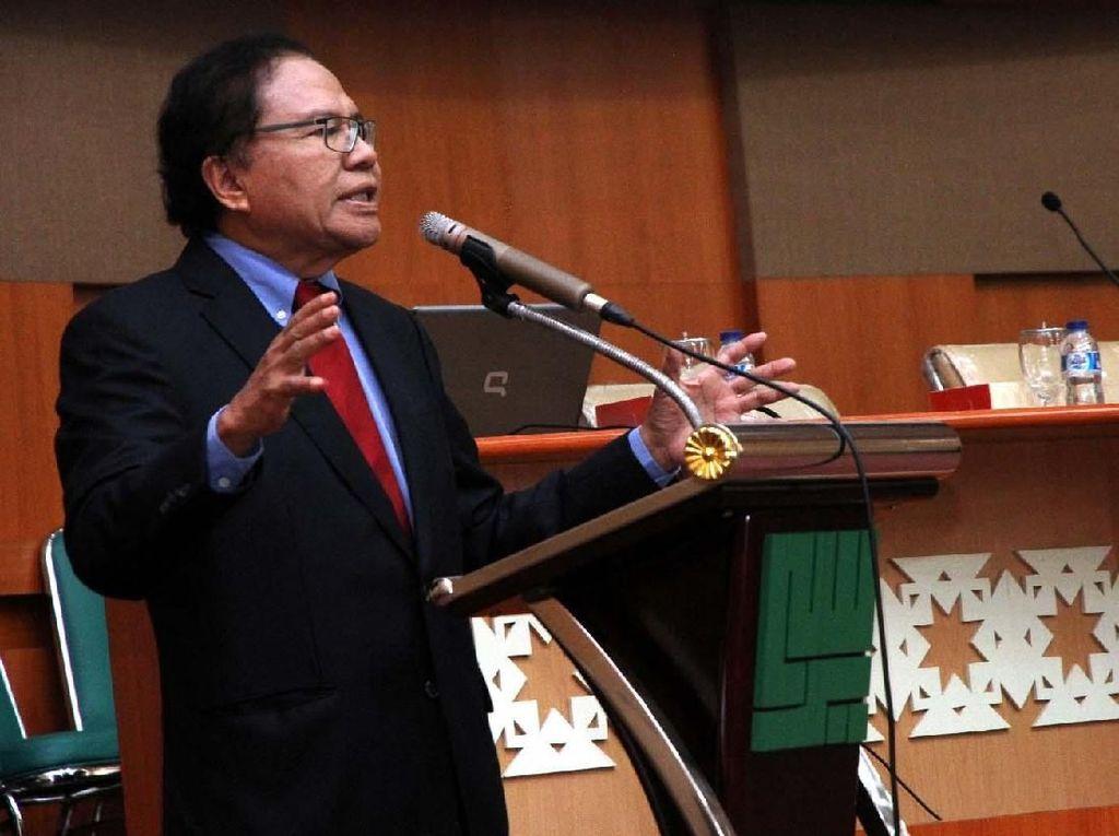 Rizal Ramli: Aneh Usai Rusuh di Mako, Kakor Brimob Tidak Mundur