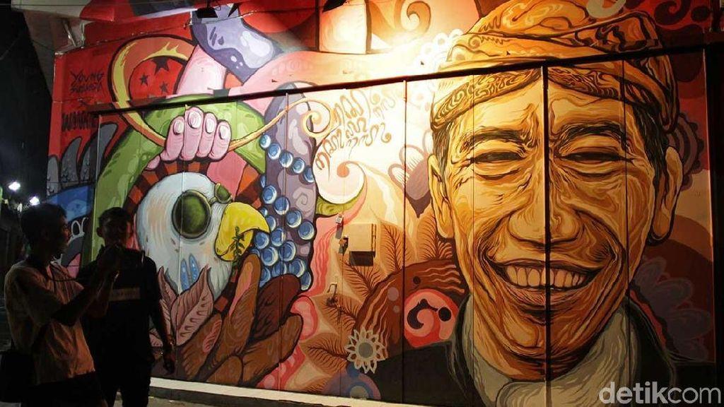 Foto: Akhir Pekan Ini, Lihat Mural Jokowi Sampai Kurt Cobain di Solo