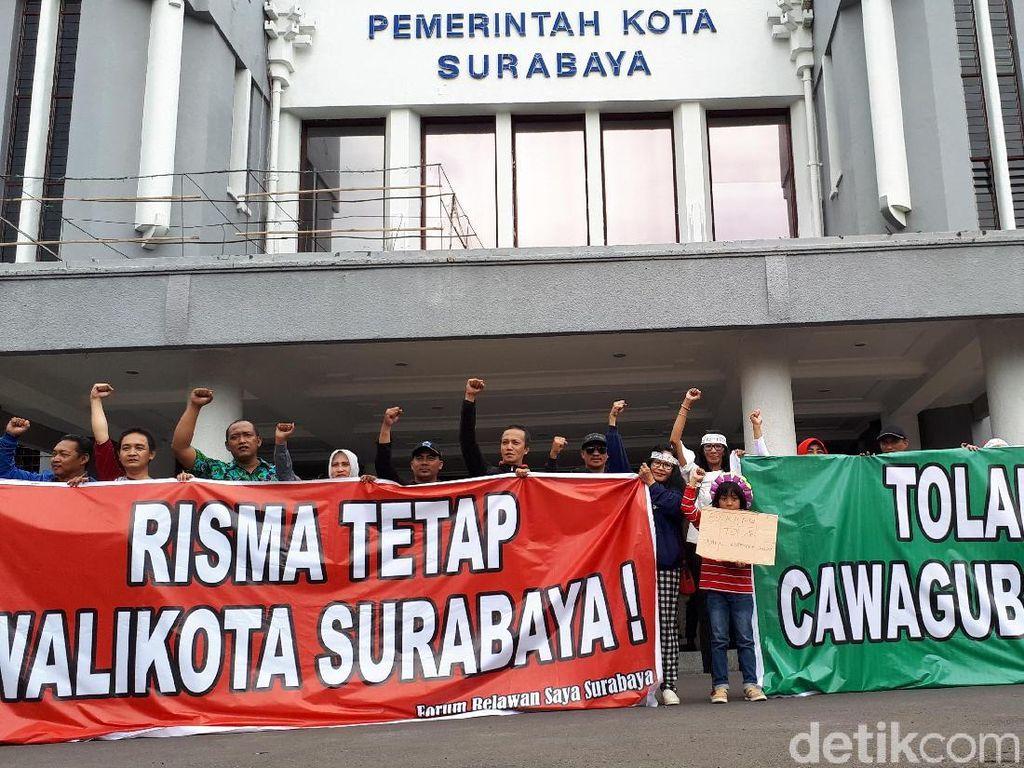 Tetap Dukung Azwar Anas, PDIP: Bu Risma Dicintai Rakyat Surabaya
