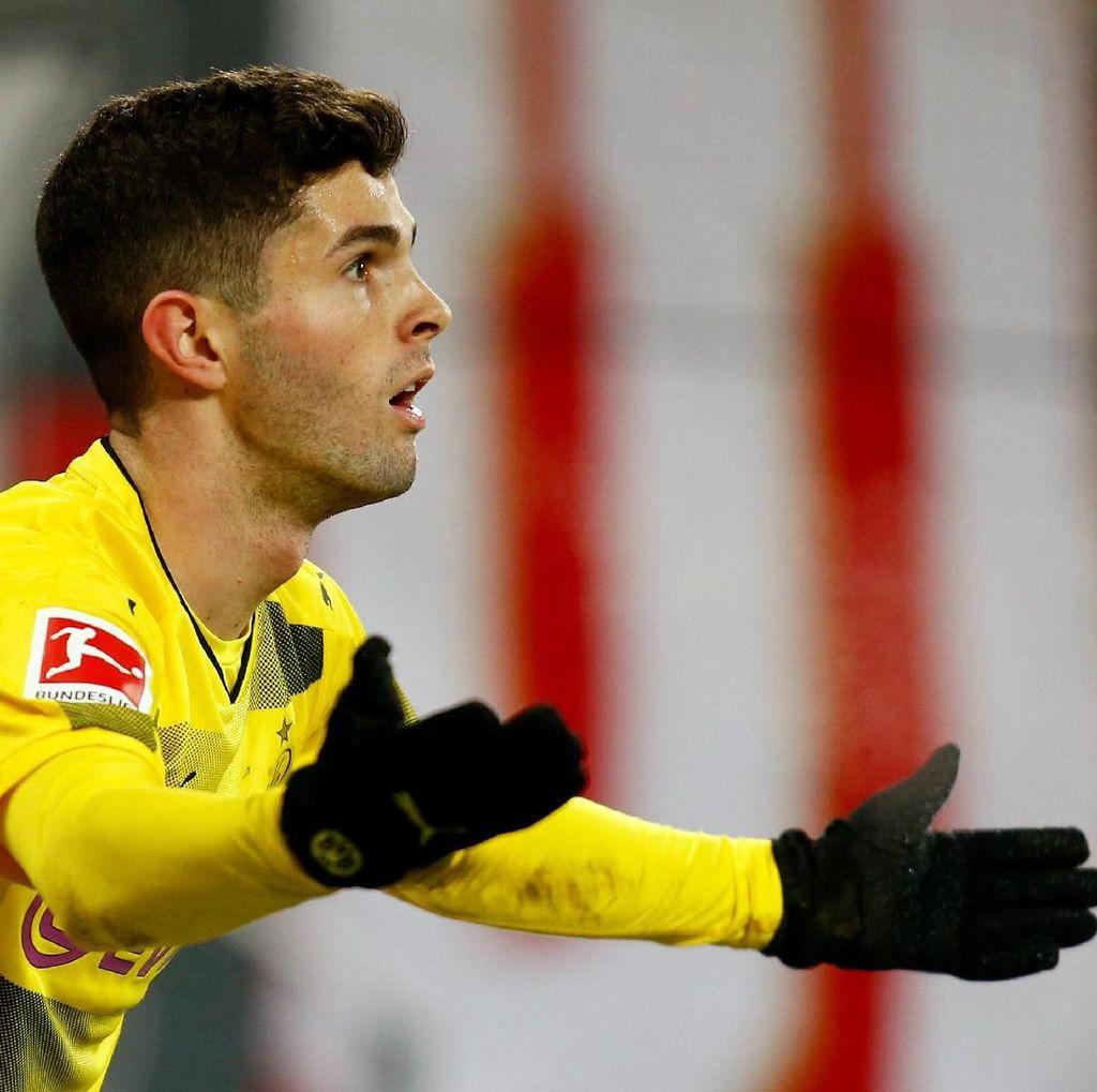Dikaitkan dengan Chelsea, Pulisic Akan Bicara dengan Dortmund