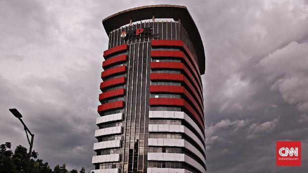 Gedung Merah Putih KPK, di kawasan Kuningan, Jakarta.