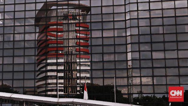 Gedung Merah Putih Komisi Pemberantasan Korupsi (KPK). CNN Indonesia/ Andry Novelino