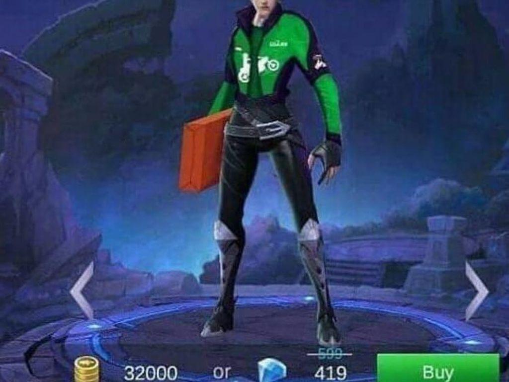 Ketika Hero Mobile Legends Jadi Go-Jek