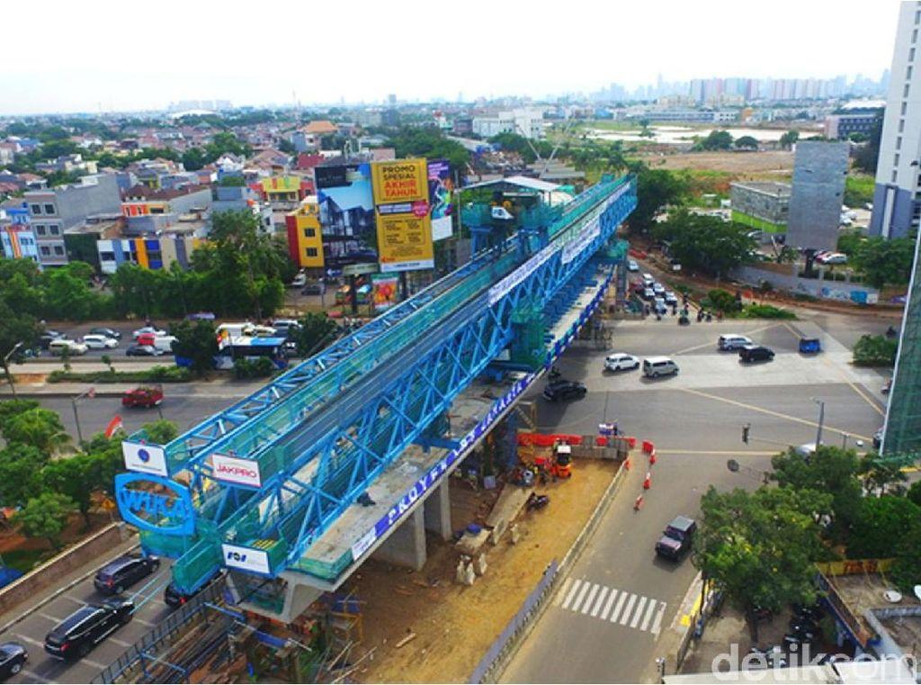 Mau Dipakai Asian Games 2018, Ini Lho Proyek LRT Jakarta