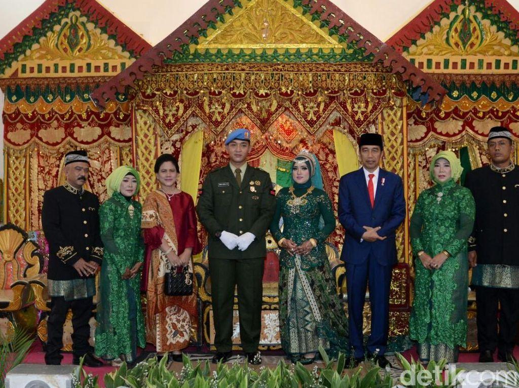 Usai Nikah Anak Pramono, Jokowi Hadiri Pernikahan Anggota Paspampres