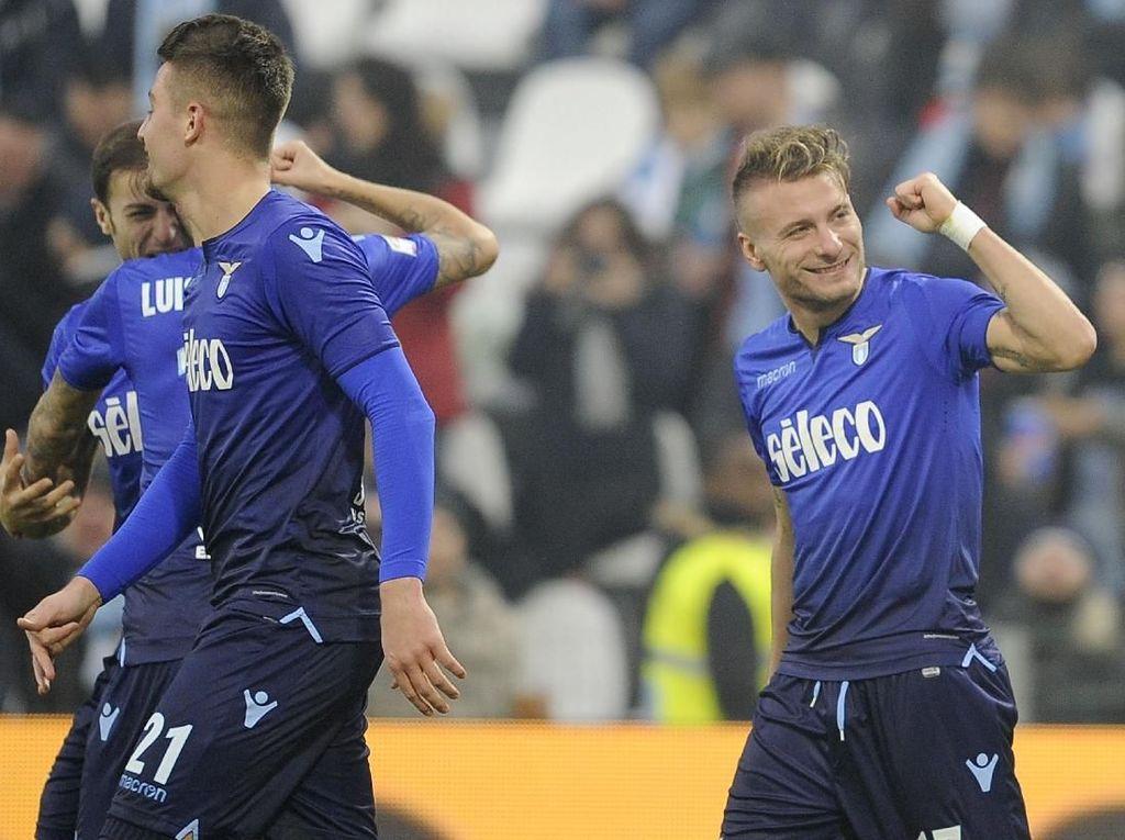 Immobile Empat Gol, Lazio Lumat SPAL 5-2