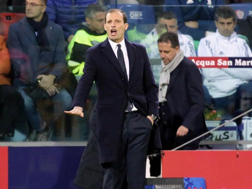 Allegri Sudah Capai 200 Kemenangan di Serie A