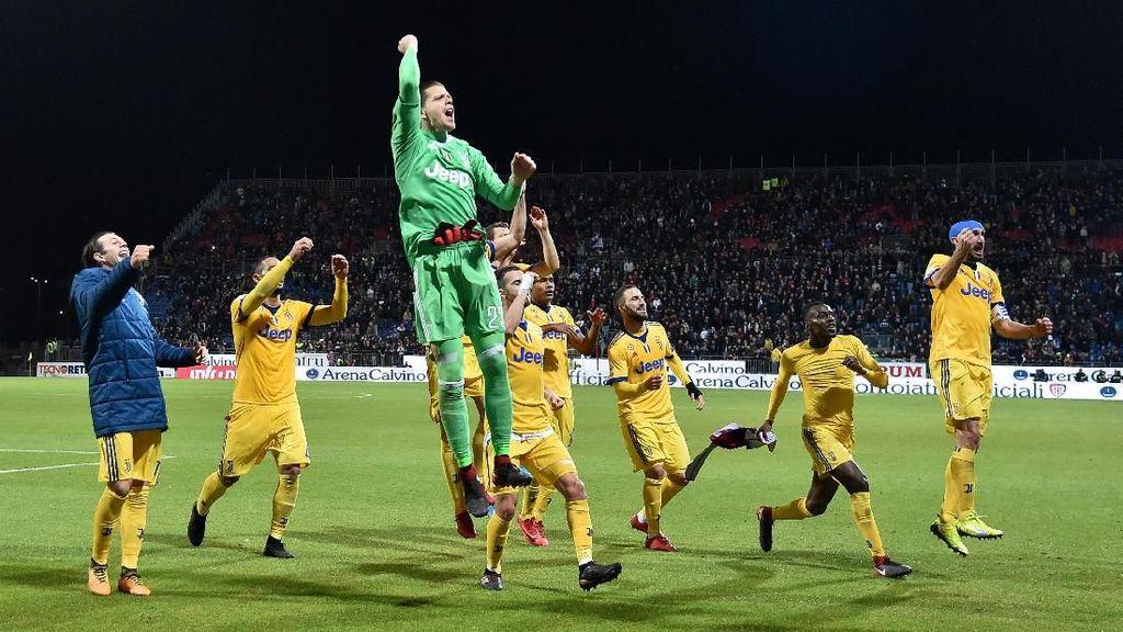 Juventus Inginkan Treble