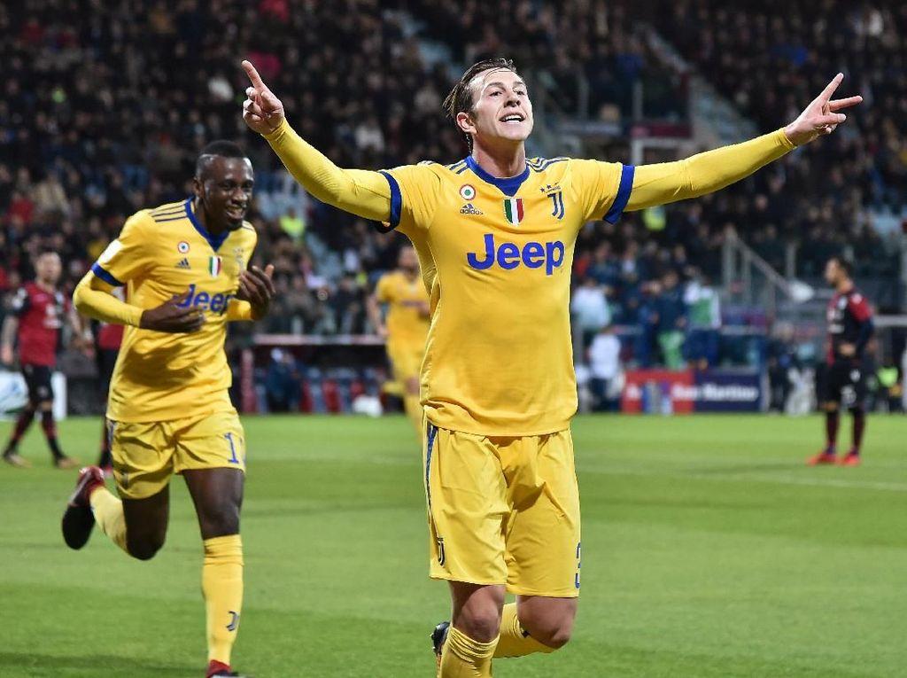 Gol Tunggal Bernardeschi Menangkan Juventus