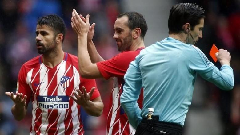 Banding Atletico atas Kartu Merah Diego Costa Ditolak