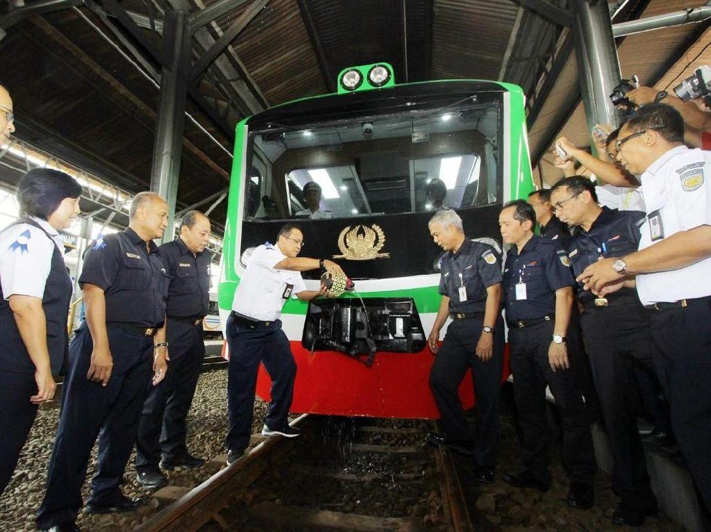 Kereta Inspeksi Bertema Go Green Diluncurkan di Semarang