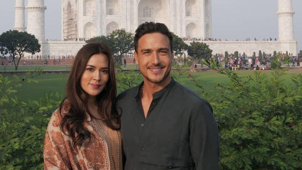 Ke India, Raisa dan Hamish Daud Terpesona Taj Mahal
