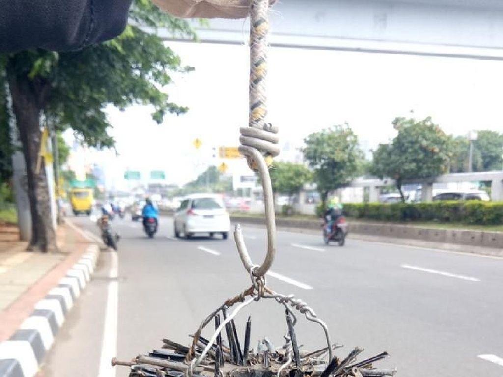 Ini Jalanan Jakarta Paling Rawan Ranjau Paku