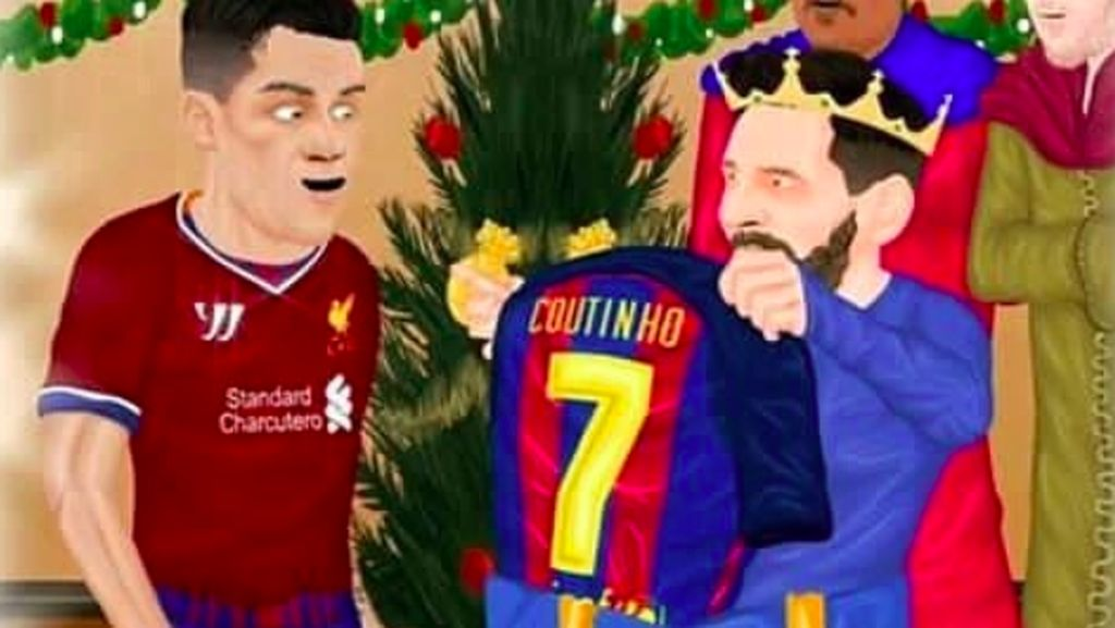 Bagaimana Dunia Maya Menyambut Kepindahan Coutinho ke Barca?