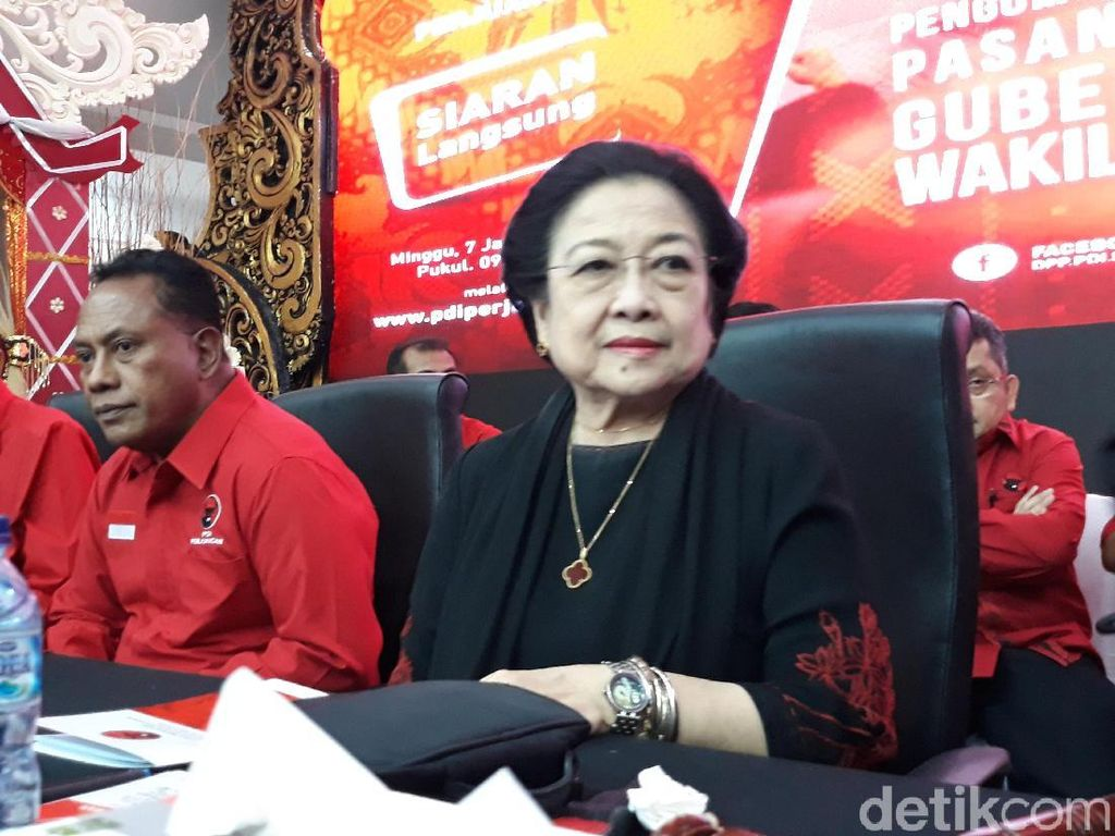 Megawati: Katanya PDIP Partai Polisi, Nggak Marah Itu Pak Tito