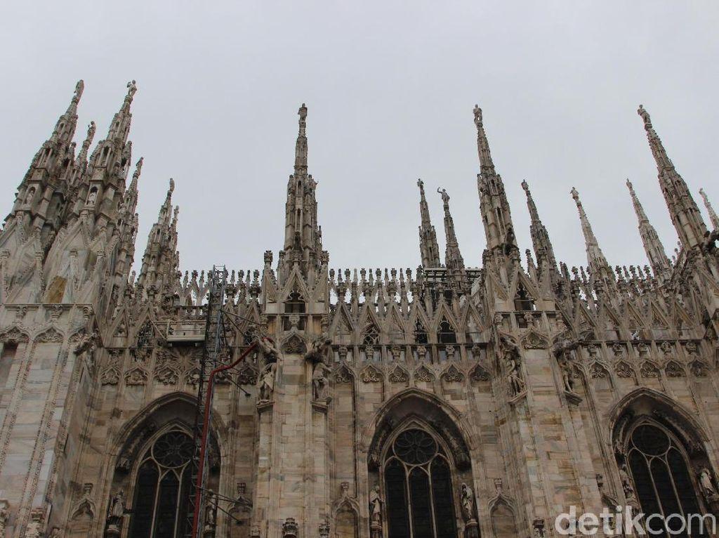 Foto: Katedral Megah Milan yang Dibangun Selama 600 Tahun