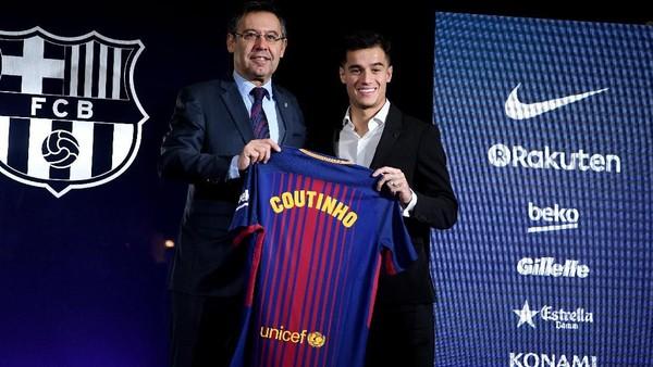 Sah! Coutinho Resmi Jadi Pemain Barcelona