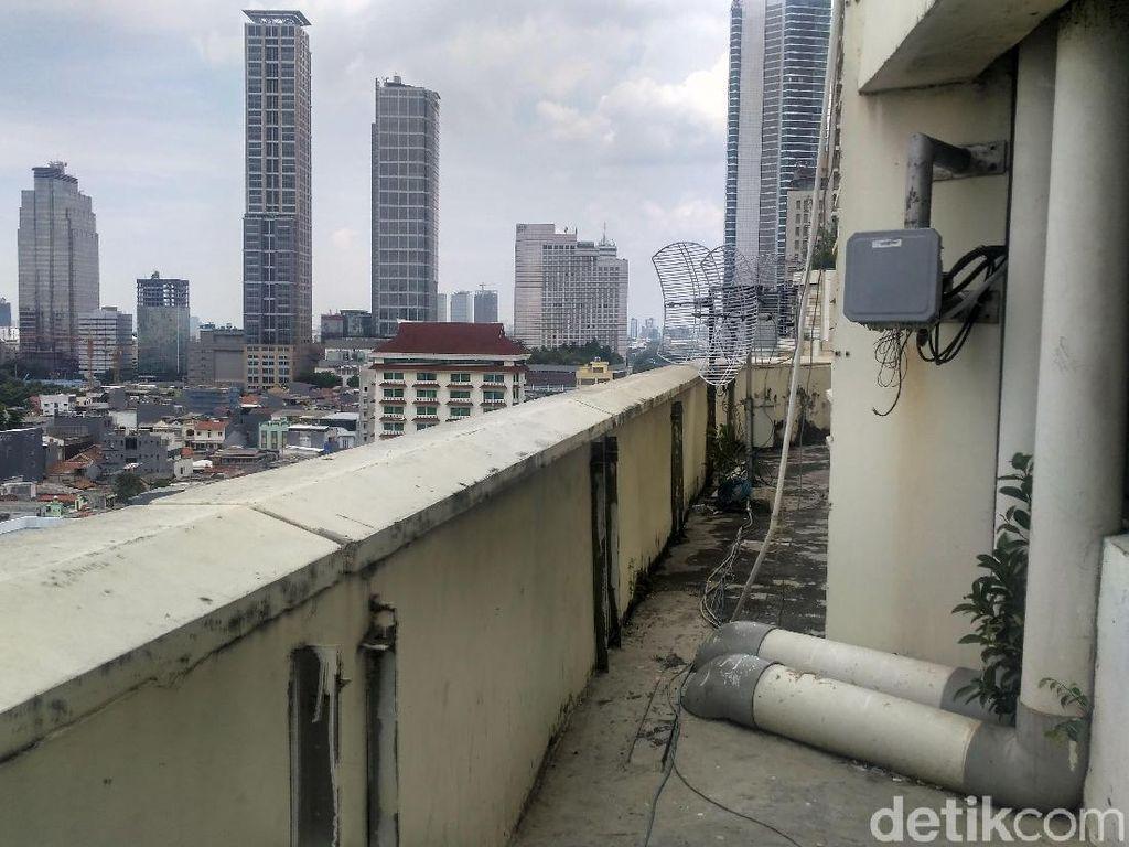 Ini Lokasi Diduga Titik Lompat Karyawati Bank di Thamrin City