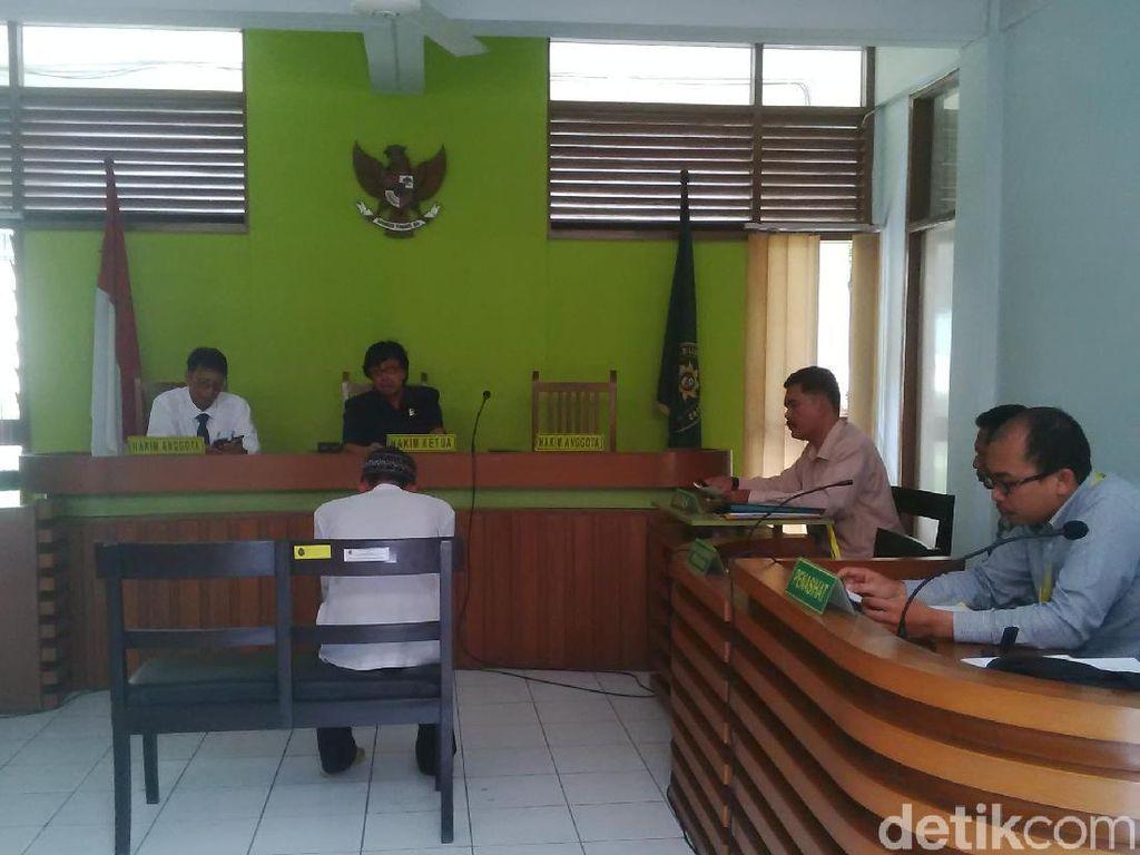 Penusuk Siswa SMK di Bandung Divonis 8 Tahun Penjara