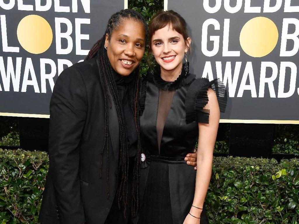 Emma Watson Ajak Aktivis Perempuan ke Ajang Golden Globe 2018