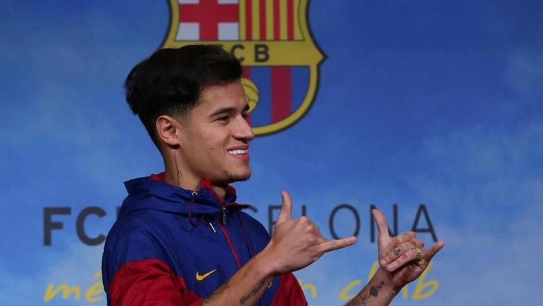 Tentang Coutinho yang Akan Absen di Liga Champions Sisa Musim Ini